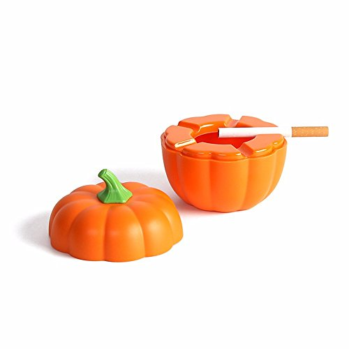 Creative personality pumpkin covered with ashtray cute tide with covered melamine plastic ashtray