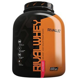 Rival Whey Strawberry 5lb