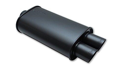 Vibrant 1148 Streetpower Black Flat Oval Muffler