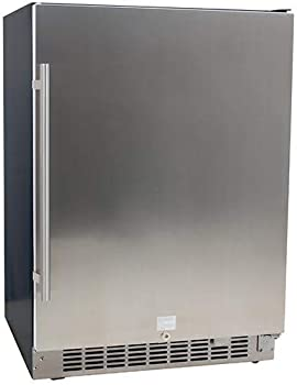 EdgeStar Stainless Steel Under-counter Refrigerator