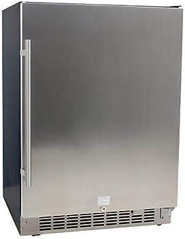 EdgeStar Stainless Steel Under-counter Refrigerator