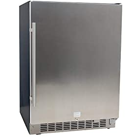 EdgeStar 5.49 Cu. Ft 142 Can Built-in Beverage Coo...