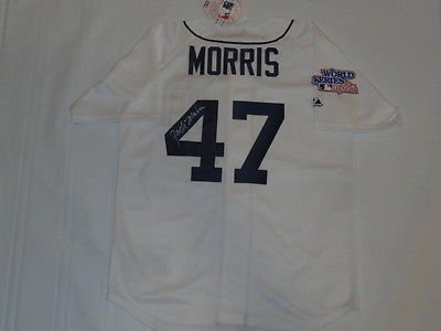 JACK-MORRIS-SIGNED-1984-WORLD-SERIES-JERSEY-DETROIT-TIGERS-JSA-COA-EXACT-PROOF