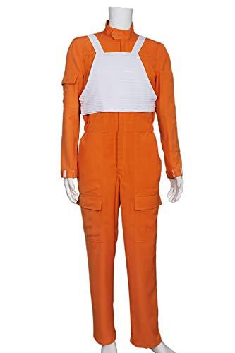 Star Wars Cosplay X-Wing Pilot Costume Orange