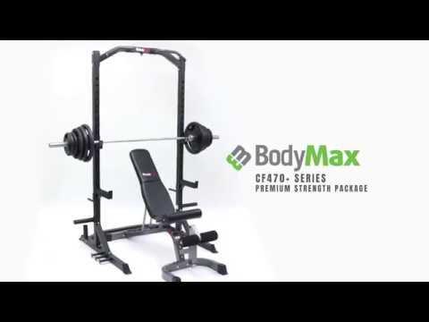 Bodymax CF470 - Rack de pesas de media rejilla: Amazon.es ...