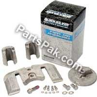 Mercury/Quicksilver Parts 888761Q02 W7 ANODE KIT - ALUM ANODE KIT by Mercury/Quicksilver Parts