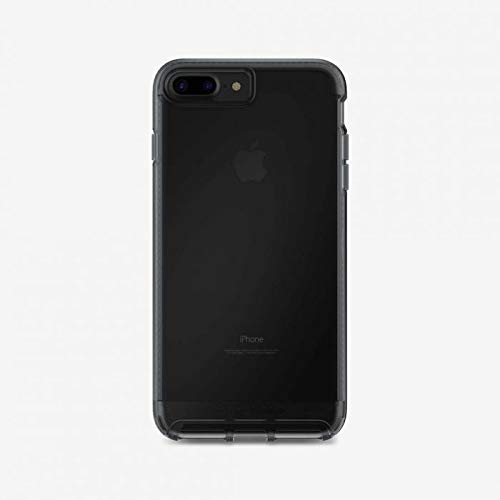 Tech.21 Impact Clear Matte Finish Case for Apple iPhone 7+ / 8+ - Smoke Black