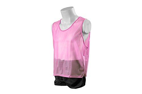 Kwik Goal Adult Deluxe Scrimmage Vest, Pink