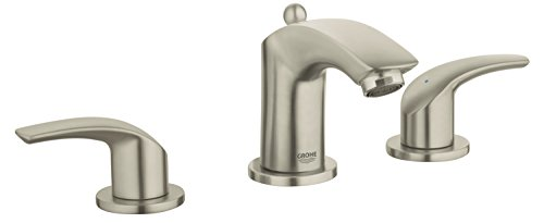 Wideset Bathroom Faucet Finish - Eurosmart New 8 in. Widespread 2-Handle Low Arc Bathroom Faucet