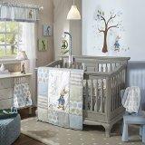 Lambs & Ivy Peter Rabbit Crib Set, 4 - Rabbit Set