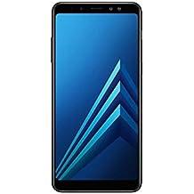 "Samsung Galaxy A8+ (2018) Factory Unlocked SM-A730F/DS DUAL SIM 64GB/4GB Ram, 6"" Screen, 16MP Rear Camera + Dual Frontal Camera 16MP+8MP, IP68, 4G LTE International Version No Warranty (Black)"