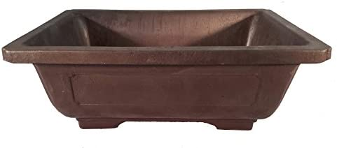 Rectangle Mica Bonsai Training Pot – Superior to Plastic – Won t Break from Freezing or Dropping Like Clay, Earthenware or Ceramic Exterior Dimensions 9 1 2 x 7 x 3 3 8