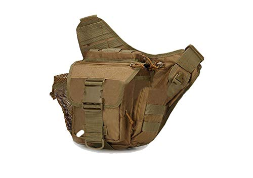 ACU Upgrade Bag Bolso Bolso Saddle Bag Tactical de camuflaje militar Broncearse salvaje hombro Bag Saddle Super cintura Crossbody de de xRXRwqUSp