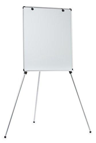 Pizarra Blanca Magnética Ajustable y Ligera con Caballete, Superficie de 58.4 x 86.36 cm