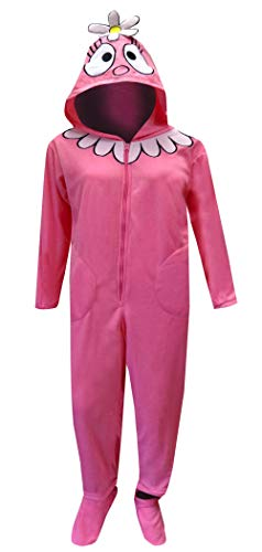 Underboss Women's Yo Gabba Gabba Foofa Adult Footie One Piece Pajamas (X-Large) Pink]()