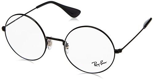 Ray-Ban rx6392 50 2509 ja jo lunettes en noir RX6392 2509 50 Clear Black