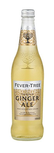 Fever-Tree Premium Ginger Ale, 16.9 Ounce Glass Bottles (Pack of 8) (Ginger Ale Brands Made With Real Ginger)