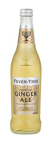 Fever-Tree Premium Ginger Ale, 16.9 Ounce Glass Bottles (Pack of ()