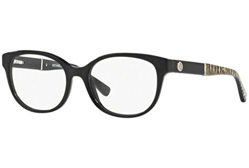 Michael Kors RANIA III MK4032 Eyeglass Frames 3168-49 - Black MK4032-3168-49 (Black Michael Kors Frames)