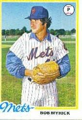 Amazoncom 1978 Topps Baseball Card 676 Bob Myrick Near