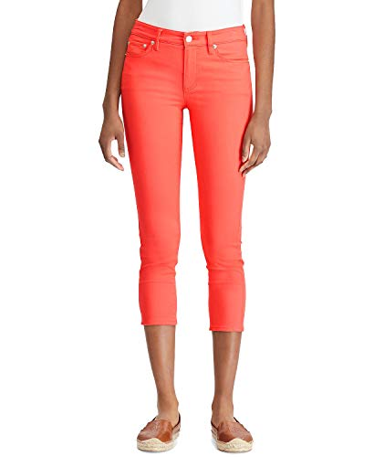 (Lauren Ralph Lauren Petite Premier Skinny Crop Jeans - Calla Lilly 14P (Calla Lilly, 14P))