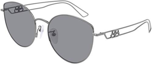 Sunglasses Balenciaga BB 0059 SK- 003 Ruthenium/Grey