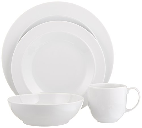 White 4 Piece Place Setting - 5
