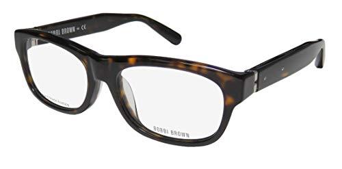 Bobbi Brown The Bobbi Womens/Ladies Rectangular Full-rim Brand Name Glamorous In Style Eyeglasses/Eyeglass Frame (54-16-135, Tortoise)