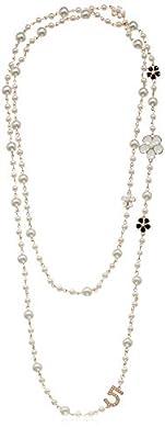 Fashion Jewelry Multipurpose White Imitation Pearl Celebrity Bridal Necklace