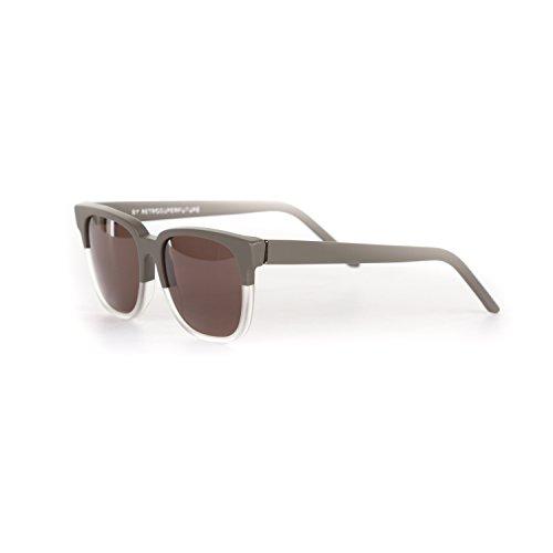Retrosuperfuture People Dark Grey/Crystal Fashion Sunglasses - People Sunglasses Retrosuperfuture