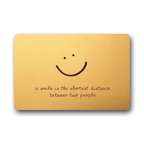Door Mat Smiley Face With Funny Saying Quotes Doormat Rug Indooroutdoorfront Doorbathroom Mats Floor Mat 236inch X 157inch
