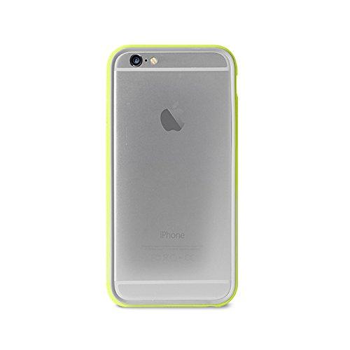14 opinioni per Puro IPC655BUMPERGRN Custodia per iPhone 6/6s Plus, Verde