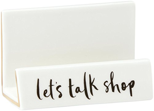 kate spade new york Daisy Place Desktop Business Card (Home Office Card Holder)