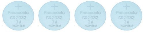 Panasonic Cr-2032 Lithium Coin Battery - Four Pack