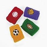 Sport Ball Wrist Bands (1 dozen) - Bulk [Toy]