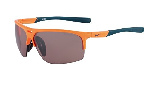 Nike Max Speed Tint Lens Run X2 S E Sunglasses, Atomic Orange/Night Factor by NIKE