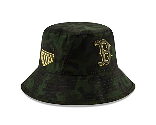 New Era Boston Red Sox 2019 MLB Armed Forces Day Bucket Hat - Camo