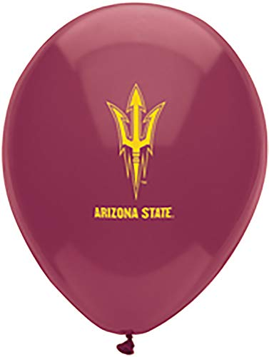 Arizona State University Party Supplies (Pioneer Balloon Company 35095.0 10 Count Arizona State Latex Balloon, 11