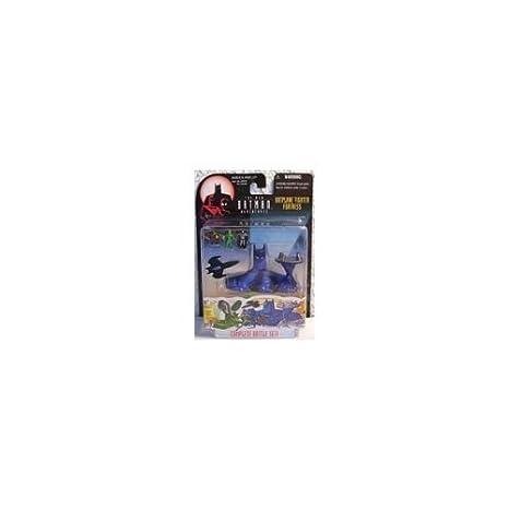Amazon.com: Batplane Fighter Fortress Batman: Micro Machines ...