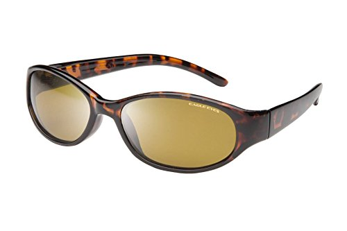 Eagle Eyes Lightweight Polarized Sunglasses - The Tuscan in Tortoise - Tortoise Womens Glasses Shell