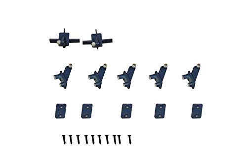 Part & Accessories FMS 70mm Viper Ducted Fan Jet Parts list Landing Gear Set Retract Motor ESC Servo Canopy etc RC Airplane Model Plane Aircraft - (Color: Control Horns)