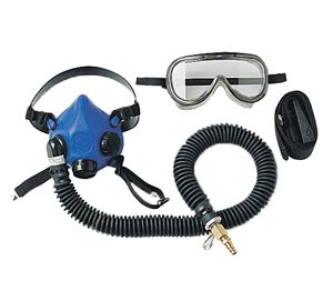 SAS Safety 9813-20 Professional Supplied-Air Halfmask, Large