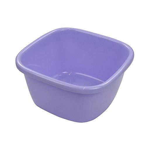 (Ramddy Washing Basin / Wash Tub Plastic, 18 Quart, Purple)