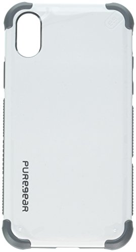 PureGear DualTek Extreme Shock - Case for Apple iPhone X (Arctic White) (Puregear Dualtek Extreme Shock)
