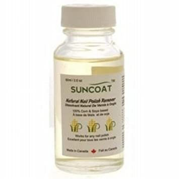 Natural Nail Polish Remover 60 Milliliters by Suncoat Products ...