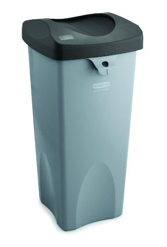 - Rubbermaid Swing Top Lid for Untouchable Recycling Center, 16