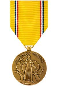 Medals of America American Defense Medal - Defense American Medal