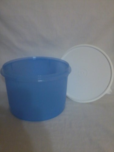 Tupperware Econo Canister - Blue with White Seal (Econo Seal)