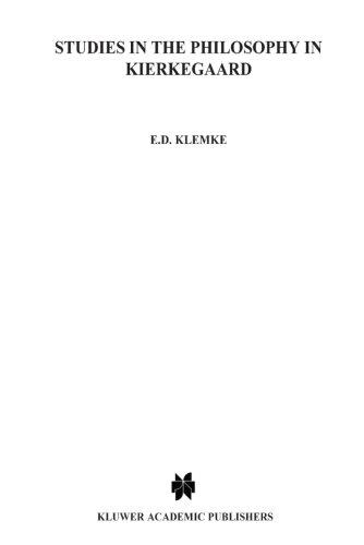 Studies in the Philosophy of Kierkegaard