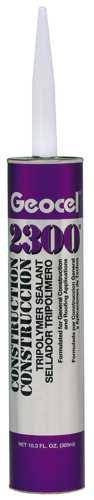 Ge CAULK & SEALANTS 290428 ocel 2300 Construction Tripolymer Sealant, Brown, 10.3 Oz.